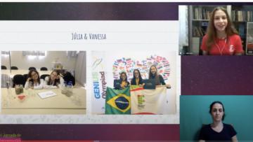 Jovens pesquisadores inspiram o público no painel da Fecinc