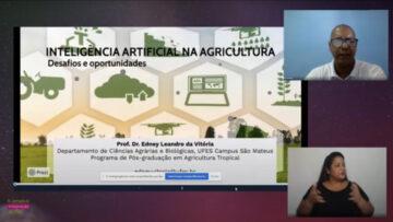 Palestras trazem exemplos da aplicação de inteligência artificial na agricultura